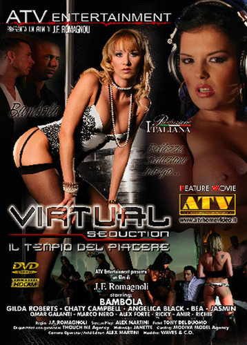 <p>Genre: All Sex, Oral, Anal, Straight, Group Sex, Double Penetration, Stockings Starring: Black Angelika, Bambola, Gilda Roberts, Jasmin Black, Kathia Nobili as Kathy Campbel, Marco Nero, Omar Galanti, Alex Forte Company: ATV Entertainment / Italy Director: J.F. Romagnoli Format: AVI File Size: 1.37 GB Duration: 01:03:57 + 00:56:13 Video: Xvid 512&#215;288 29.97fps 1603Kbps Audio: MPEG [&hellip;]</p>