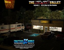 3d comic the uncanny valley episode 1 2