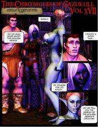 The chronicles of Gazukull 17 porn comic