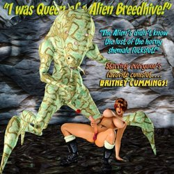 Free Download Adult Comics Queen of Alien Breedhive