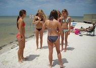 And Adolecent bikini girls apparent