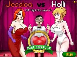 Meet'n'Fuck - Jessica Vs Holli