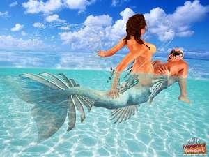 Adult-Empire - Aquaman Of The Caribbean