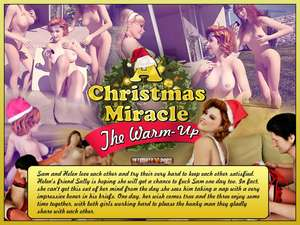 Ultimate3DPorn - A Christmas Miracle 1 - The Warm Up