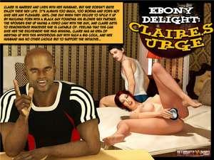 Ultimate3DPorn - Ebony Delight - Claire's Urge