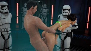 HZR - The Farce Awakens - Naughty Princess