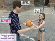 Dad-daughter - Basketball sex game