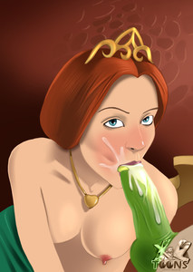 Fiona Blowjob Shrek