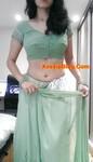 Horny UK Desi Girlfriend in Saree Selfie Nude