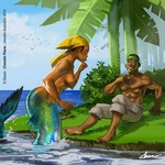 Chevelin pierre – Mermaid Story by Chevelin Illustration