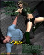Superheroine Central - Green Specter Vs Team Knockout