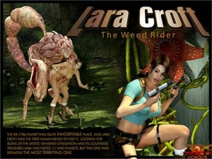 Gonzo - Lara Croft - The Weed Rider
