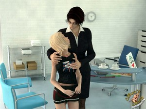 Alice's Diary 11 - How Alice played with Lady Boss in lesbian game