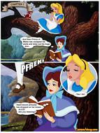 Cartoon Valley - Alice in Wonderfuckers  Land
