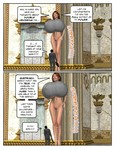 BeGiantess - Agent KateIn Action 1