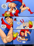 Iceman Blue - Superman