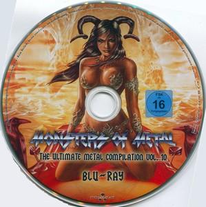 VA - Monsters Of Metal:The Ultimate Metal Compilation [Vol.10] (2016) [BDRip 720p]