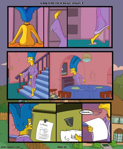 A Day in the Life of Marge 2 by Blargsnarf
