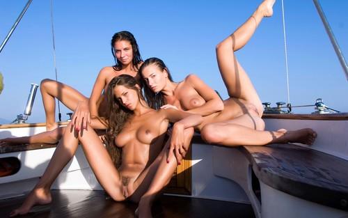 Фильм с яхтой и девушками и секс