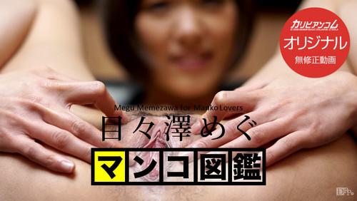 カリビアンコム プレミアム 051016_001 マンコ図鑑 目々澤めぐ