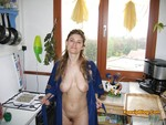 Mature French MILF Christelle Nude