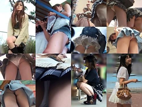 『投稿作品』Locket★pantsさんのPANチラ逆さ撮り No.61~70【VIP作品】