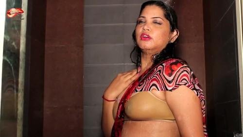 Hot desi aunties in bra