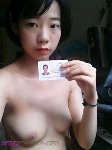 [Chinese Scandal] Naked for a living