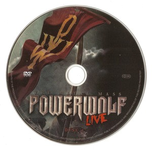 Powerwolf - The Metal Mass Live (2016) [2xDVD9]