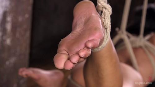 [HogTied] Mia Li – Brutal Hair Suspension, Grueling Bondage, Torment, and Orgasms!!!