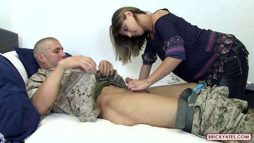 Ivette – An Oral Amateur gets the Anal Pile Driver by a Marine