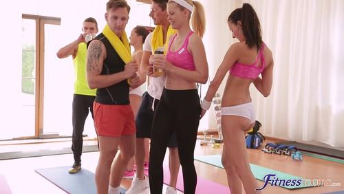 Barbara Bieber – Sweaty Workout After Class