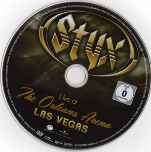 Styx - Live at The Orleans Arena Las Vegas (2016) [DVD9]