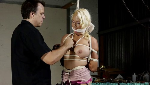 Futile Struggles : Summer Monroe Transported And Hogtied-Part