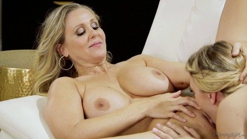 Mommysgirl julia ann guides stepdaughter and bff