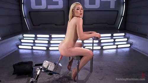 Lily Labeau – Hot Blond Lily LaBeau is Machine Fucked