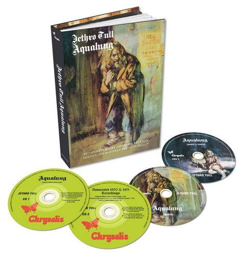 Jethro Tull - Aqualung 1971: 40th Anniversary Adapted Edition (2016) [2xDVD9]