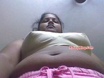 South Indian Wife Boobs Navel and Pussy Show