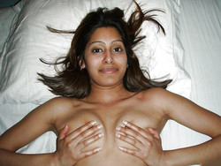 Indian college girl in the UK having fun with her ex boyfriend