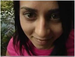 Hot indian teen girl friend blowjob in park