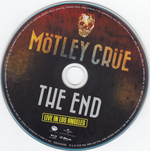 Motley Crue - The End: Live in Los Angeles (2016) [BDRip 1080p]