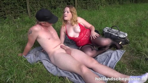 Hollandsche Passie E15 : E Picknick Van Rachel Rose En Haar Vriend Wordt Al Snel Een Potje Buitensex Met Anaal