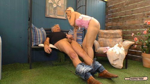 Mia Bitch – Older Guy Fucks A Blonde And Busty German Newbie Cheating On Her Husband