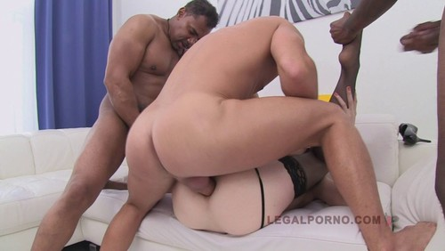 Legal Porno : Macy 3On1 Anal and DP