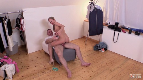 My Naughty Album : Cum In Mouth And Hot Photoshoot Fuck With Hungarian Blonde Babe Sicilia