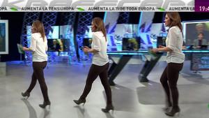 Mamen Mendizábal con pantalones ceñidos (11/01/17)