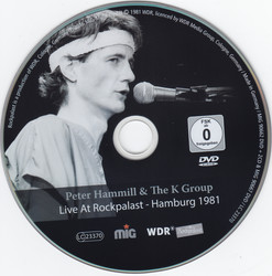 Peter Hammill & K Group - Live At Rockpalast - Hamburg 1981 (2016) [DVD9]