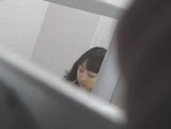 【お銀】「洗面所突入レポート!!」vol.41 ジャジャ漏れ