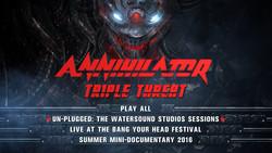 Annihilator - Triple Threat (2017) [Blu-ray]