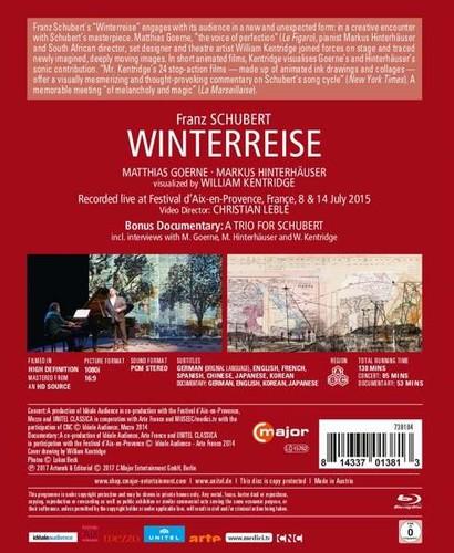 Franz Schubert - Winterreise (2017) [Blu-ray]